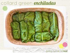 Collard Greens Enchiladas