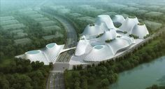 Futuristic Architecture - Taichung Convention Center / MAD Architects,