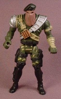 Chap Mei Speedtrooper 1 Action Figure, 3 3/4 Inches Tall, Snake Squad, Soldier Force Series
