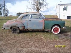 1950 Oldsmobile Business Coupe