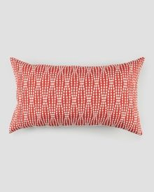 Red Strands Decorative Pillow, Main View