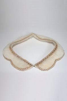Vintage rabbit fur collar. by julevintage on Etsy, $40.00