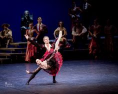 Tamara Rojo and Frans Valkama in Don Quixote, at Finnish National Ballet's gala performance.