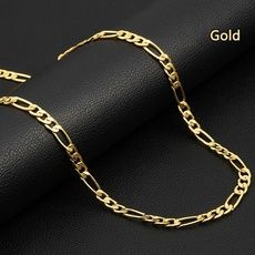 Wish - Shopping Made Fun Gold Necklace For Men, Mens Gold Jewelry, Men Necklace, Fine Jewelry, 14k Gold Rope Chain, Gold Chains, Stainless Steel Necklace, Chains For Men, Necklace Lengths