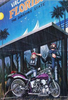 David Mann Motorcycle Art | Racing Cafè: Motorcycle Art - David Mann