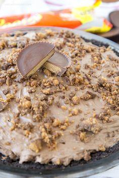 Chocolate Cream Cheese Pie 16
