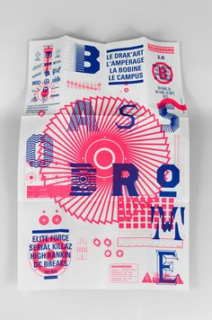Bassodrome 2.0 - SUPERSUPER. - Design graphique, Grenoble, France