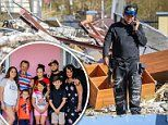 Marine vet's mission to help his Puerto Rican family | Daily Mail Online