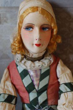 Tagged Cruise Ship Souvenir Boudoir Doll