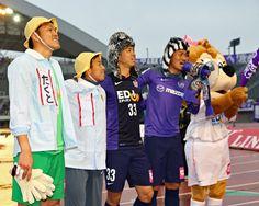 [ J1:第5節 広島 vs 徳島 ] 勝利を収めた前年王者の広島。3試合ぶりの勝利に最後はサンフレ劇場で選手もサポーターも勝利を喜び合った。  2014年3月29日(土):エディオンスタジアム広島