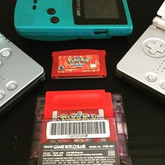 Pure pleasure! shared by video_games_420 #retrogaming #microhobbit (o) http://ift.tt/1SvZ2Xl down my favorite game for the original game boy Pokemon Red (or blue) loved trading or battling every kid on the play ground grinding to level up all your Pokemon on the quest for all 151 and Fire Red updated the graphics for the gameboy advance and made me fall in love with it again maybe I'll start over on fire red today gotta catch em all! #nintendo #gameboy #gameboyadvance #gameboyadvancesp…