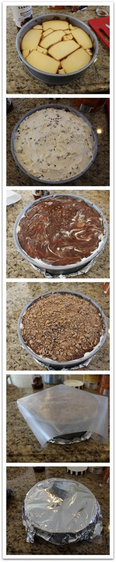 how to make ice cream cake.