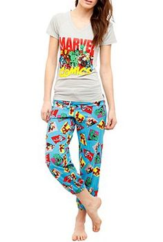 Marvel pjs! These are cute as heck!