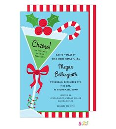 Christmas Cocktail Party Invitations.139 Best Christmas Cocktail Party Invitations Partyinvitations Com