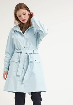 Rains Waterproof jacket - wan blue for £90.00 (26/04/16) with free delivery at Zalando