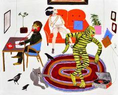 "Saatchi Art Artist Kelly Puissegur; Painting, ""Saturday Afternoon"" #art"