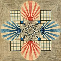 The Serpentine presented the first UK solo exhibition by the late Swiss visionary artist, healer and researcher Emma Kunz that featured over 40 of her rarely seen drawings. Geometric Patterns, Kandinsky, Mondrian, Tantra, Hilma Af Klint, Geometric Drawing, Action Painting, Art Brut, Paris Ville