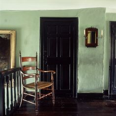 The Landing on the first floor at Hill Top House, the home of Beatrix Potter in Near Sawrey, Cumbria, England, UK