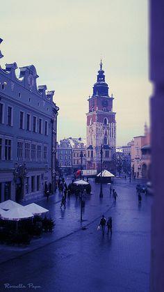 dalla finestra Cracovia