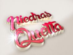 3D Text Styles Red Series by nayla2012 on Creative Market