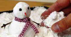Снег своими руками