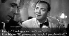 richard blaine casablanca   Rick blaine, Casablanca and Quotes on Pinterest