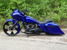 "Harley-Davidson : Touring 2013 Harley Davidson Road Glide Custom 26"" Wheel Raked Stretched 120R Sinister"