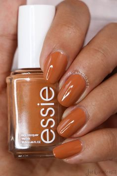 Essie Fall 2019 - On The Bright Cider || Jackiemontt