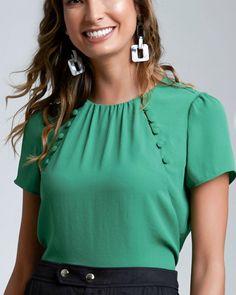 Cute Dresses, Tops, Shoes, Jewelry & Clothing for Women Collar Styles, Blouse Styles, Dress Neck Designs, Blouse Designs, Cute Blouses, Blouses For Women, Desi Wedding Dresses, Kurta Neck Design, Mo S