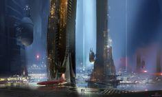Sparth Nicolas Bouvier Concept City