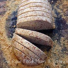 Raw Bread Recipe   The Raw Food Mum & Store – Sarah Quinney