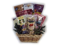 Healthnut Nut Lover Healthy Gift Basket for Him