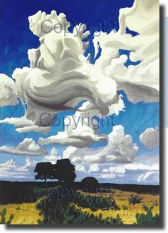 Texas Ghost Cloud by Drew Mounce