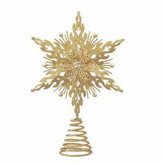Kurt Adler Metal Glitter Star Treetop, 12-Inch, Gold Star Tree Topper, Tree Toppers, Glitter Stars, Gold Glitter, Christmas Tree Decorations, Christmas Trees, Tis The Season, Holiday Gifts, Chandelier