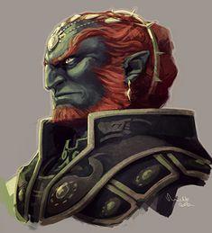 Ganondorf by TheMinttu on DeviantArt