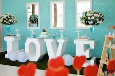 Casamento mesa love