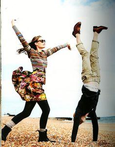 I'd do handstands and cartwheels; #ridecolorfully #katespadeny #vespa