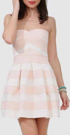 Cupcake Princess Stripe Dress //