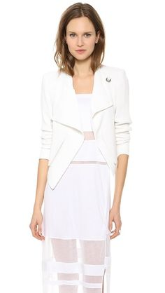 Helmut Lang Cropped Sugar Jacket