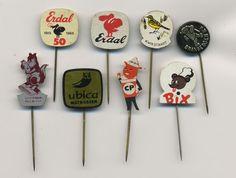 Vintage animals pins