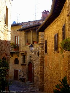 .Greve, Italy. Such a pretty town!