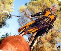 Diablo III - Monk 03 by Lili-cosplay on DeviantArt Diablo Cosplay, The Monks, Character Art, Lily, Wonder Woman, Princess Zelda, Deviantart, Superhero, February