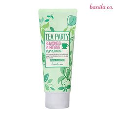 [banila co] Tea Party Foam Cleanser 120ml - 2 Type (
