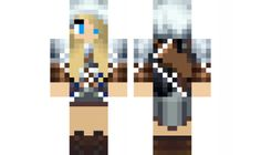 minecraft skin Fighter-girl Find it with our new Android Minecraft Skins App: https://play.google.com/store/apps/details?id=the.gecko.girlskins