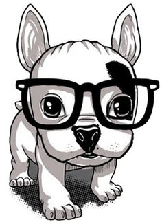Facts On The Affectionate French Bulldog Pups And Kids Animal Drawings, Cute Drawings, French Bulldog Blue, Cute Illustration, Dog Art, Dog Pictures, Dog Love, Cute Dogs, Cute Animals