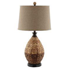 Morgan Rattan Table Lamp