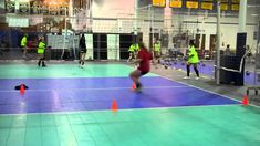 Setter's footwork