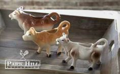 Park Hill Collection Ceramic Cow Creamers #creamer #cow