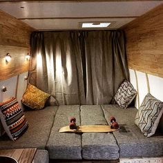 Not a bad bedroom for the back of a van #vanlife #newzealand