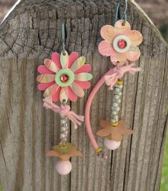 ANNA Earrings by droolworthy on Etsy